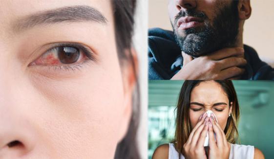پنجاب: نمی کم ہونے سے ناک، آنکھ، گلے میں جلن کی شکایات