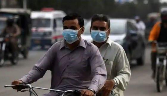 کراچی میں گزشتہ ہفتے کورونا وائرس کی مثبت آنے کی شرح کتنی رہی؟