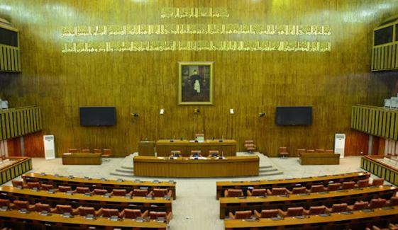 سینیٹ اجلاس: حکمران اتحاد نے پارلیمانی پارٹیز کی بیٹھک بلالی