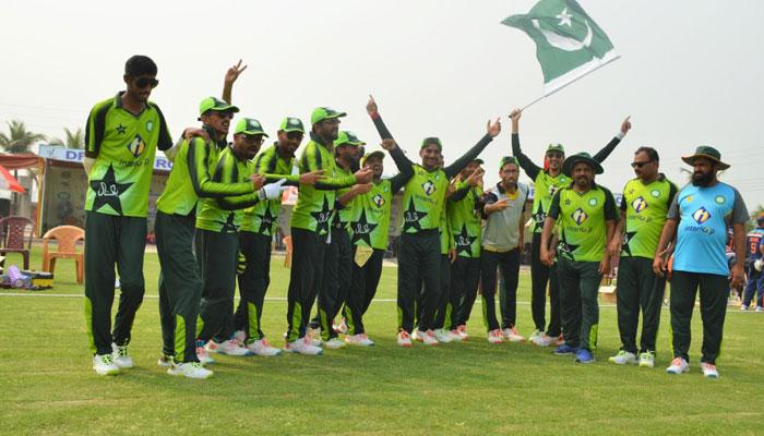 3 ملکی بلائنڈ کرکٹ ٹورنامنٹ پاکستان نے جیت لیا