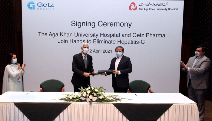ہیپاپاٹائٹس سی کے خاتمے کیلئے گیٹز فارما اور آغاز خان یونیورسٹی کا شتراک