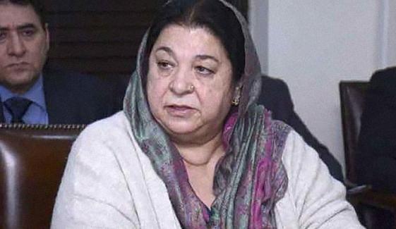 لاہور میں کورونا کے پھیلاؤ میں کمی آ رہی ہے، یاسمین راشد