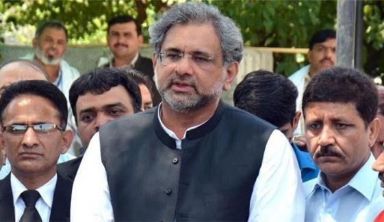پنجاب میں حکومتی ارکان پکڑلیں تو حمزہ وزیراعلیٰ بن سکتے ہیں، شاہد خاقان