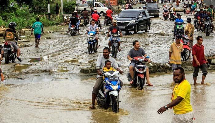 انڈونیشیا ،مشرقی تیمور میں بارش اور سیلاب سے اموات کی تعداد 157 ہوگئی