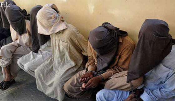 لاہور اور بھکر سے 6 مبینہ دہشت گرد گرفتار