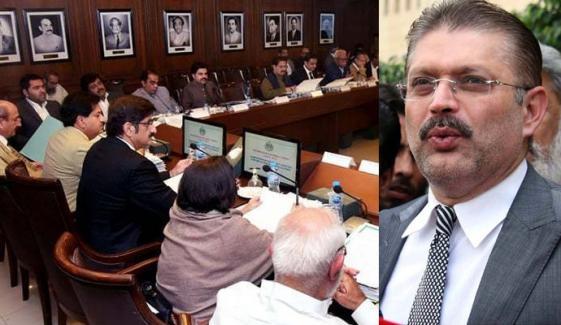 شرجیل میمن کو دوبارہ سندھ کابینہ میں شامل کیے جانے کا امکان