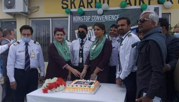 پی آئی اے  نے لاہور سے اسکردو کے لئے براہ راست پروازوں کا آغاز کر دیا