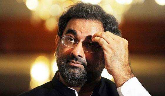 اے این پی نے اپنے خیالات اجلاس میں کیوں نہیں بتائے، شاہد خاقان عباسی