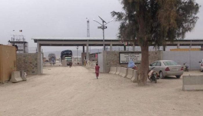 غلام خان بارڈر پر پاک افغان ٹرانزٹ ٹریڈ کا افتتاح