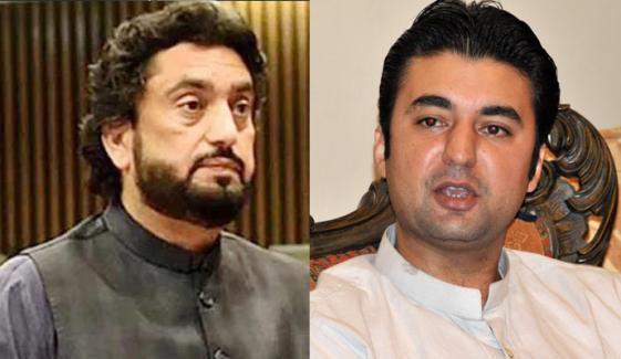 کراچی: حلقہ این اے 249 میں شہریار آفریدی، مراد سعید کو دورہ کرنے سے روک دیا