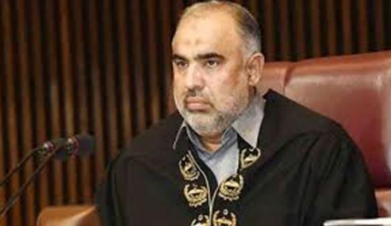 اسپیکر قومی اسمبلی کا دورہ کابل ملتوی ہونے پر افغان سربراہانِ پارلیمان کے ٹیلیفون
