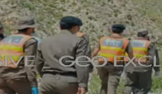 کوہاٹ: پہاڑی علاقے بوبو خیل میں اجتماعی قبر سے 16 لاشیں برآمد، پولیس حکام