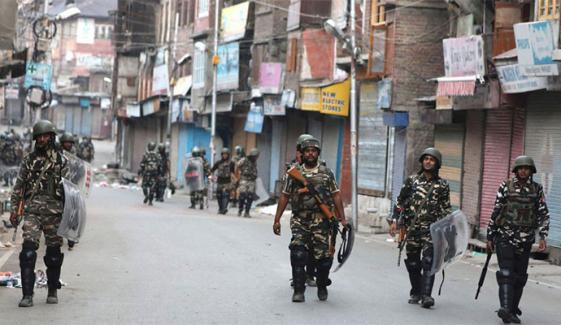 مقبوضہ کشمیر: بھارتی فوج نے دو روز میں سات کشمیری نوجوانوں کو شہید کردیا