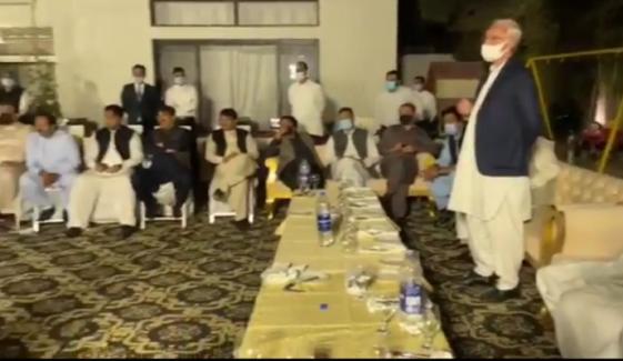 ارکان پنجاب اسمبلی کی جہانگیر ترین کے حق میں بیان بازی
