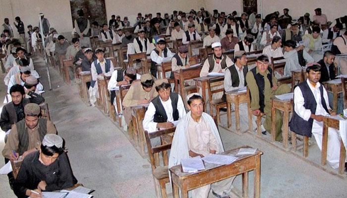 بلوچستان میں میٹرک امتحانات کا آغاز، اساتذہ کا بائیکاٹ