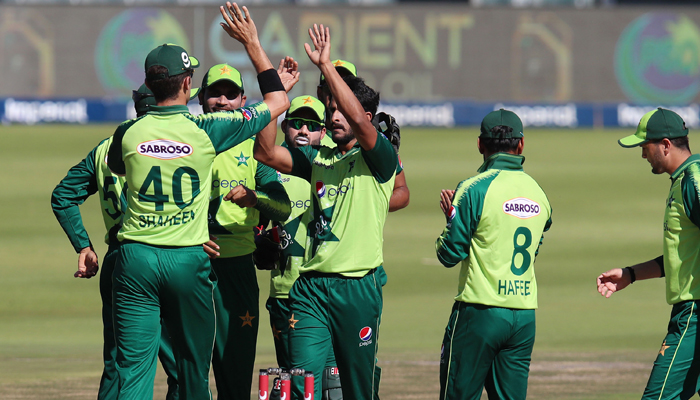 پہلا ٹی 20: جنوبی افریقا نے پاکستان کو 189رنز کا ہدف دیدیا