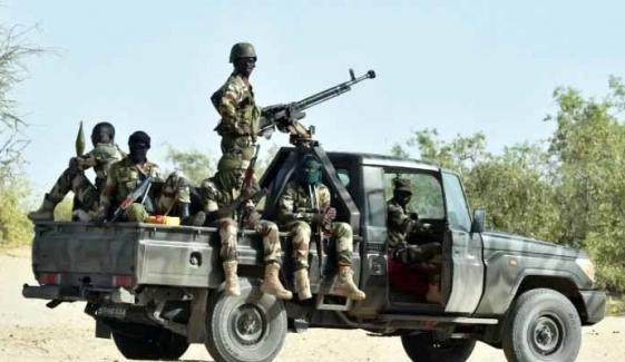 نائیجیریا میں فوجی قافلے پر حملہ، 11 اہلکار ہلاک