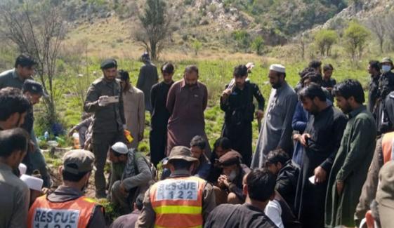 کوہاٹ سے ملنے والی 16لاشیں شانگلہ پہنچا دی گئیں