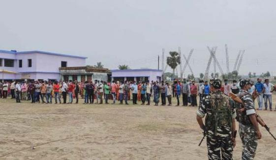 بھارت: مغربی بنگال میں ووٹنگ کےدوران فائرنگ، 4 افراد ہلاک