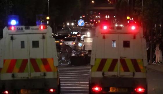 بیلفاسٹ میں مسلسل پرتشدد مظاہرے جاری