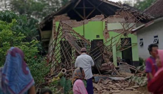 انڈونیشیا: جاوا میں زلزلہ، 6 افراد ہلاک