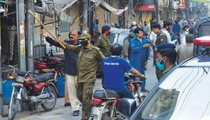 لاہور: 24 گھنٹوں میںSOPs کی خلاف ورزیوں پر 55 مقدمات درج