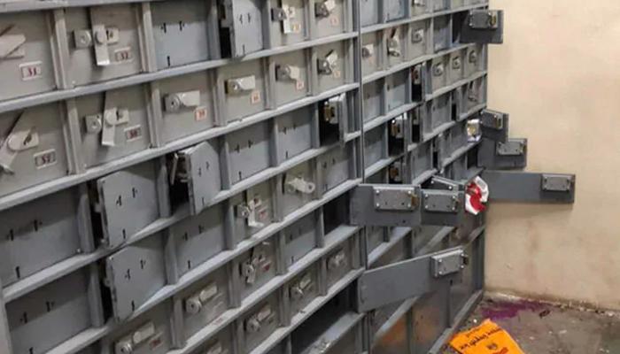 کراچی، بینک میں ڈکیتی، ملزمان درجنوں لاکر لوٹ کر فرار