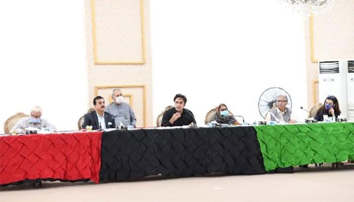 پیہپلز پارٹی کی سی ای سی کا اجلاس ، اسمبلیوں سے مستعفی ہونے پر مشاورت