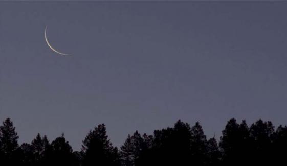 13 اپریل کو رمضان کا چاند نظر آنے کا امکان ہے: محکمہ موسمیات