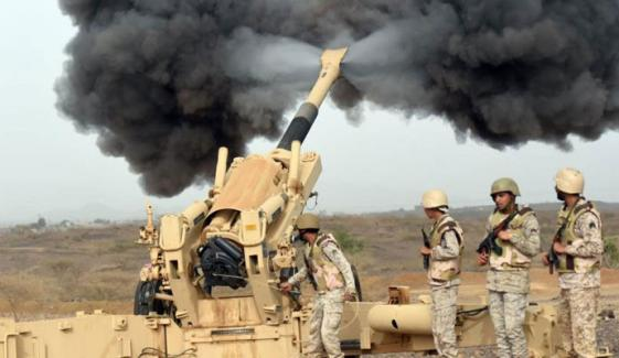 سعودی عرب نے حوثیوں کے ڈرون حملے کو ناکام بنادیا، عرب فوجی اتحاد