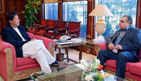 وزیراعظم عمران خان نے گورنر سندھ عمران اسماعیل کو اسلام آباد میں روک لیا