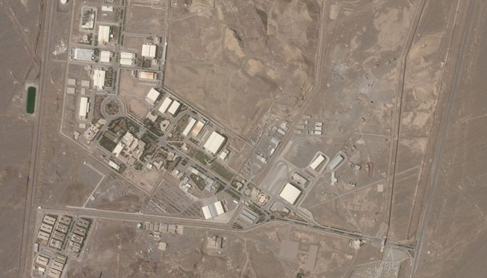 ایران کی جوہری تنصیب پردہشت گرد حملہ