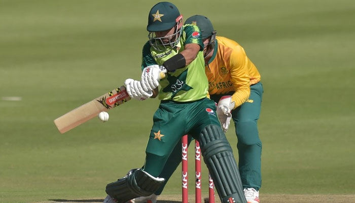 دوسرا ٹی ٹوئنٹی: جنوبی افریقہ کے خلاف پاکستان کی ٹاس جیت کر بیٹنگ