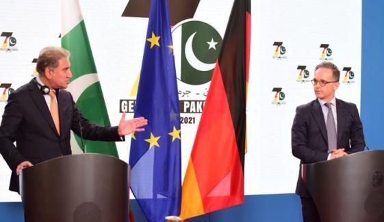 جرمنی کا خطے میں امن کیلئے پاکستان کی قربانیوں کا اعتراف