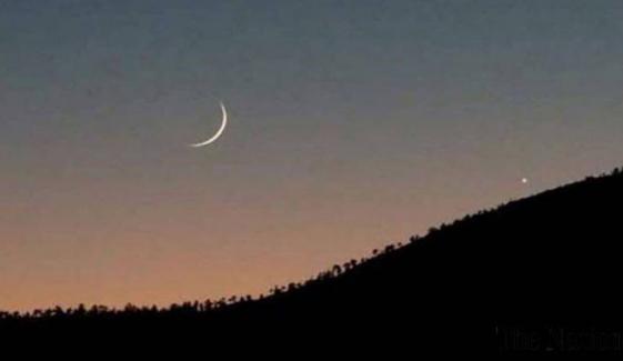 کل شام چاند نظر آنے کے واضح امکانات ہیں، محکمہ موسمیات