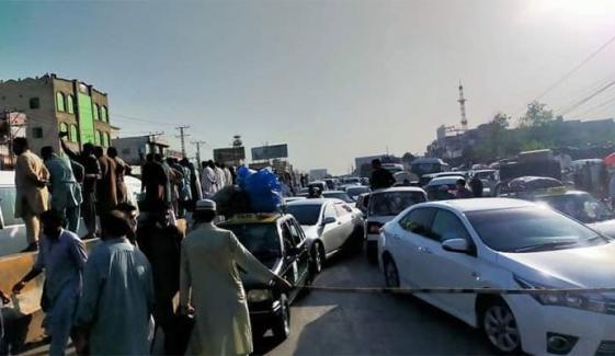 مذہبی تنظیم کے دھرنے، بد ترین ٹریفک جام