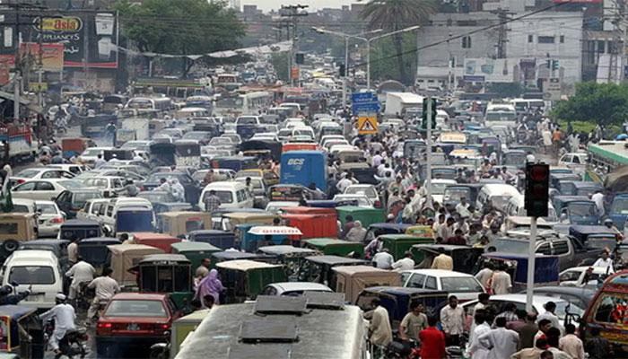 لاہور: احتجاج کے باعث 16مقامات پر ٹریفک بند
