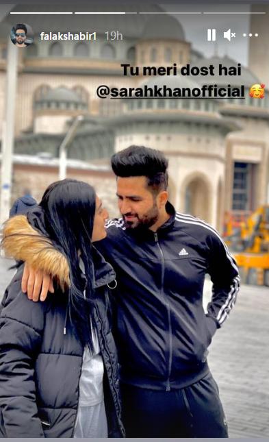 فلک شبیر نے سارہ خان کا دوست ہونے کا حق ادا کر دیا
