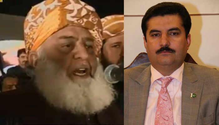 فیصل کریم کنڈی نے مولانا فضل الرحمٰن سے سوالات پوچھ لیے
