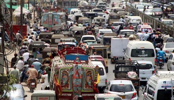 کراچی: 3 مقامات پر احتجاج جاری، ٹریفک بلاک
