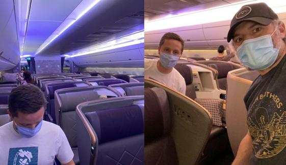 طویل ترین پرواز میں 11 مسافروں کیلئے 13 رکنی عملہ