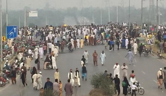 مری سے اسلام آباد جانیوالی سڑک ٹریفک کیلئے بحال