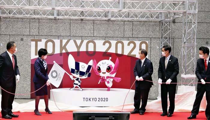 ٹوکیو اولمپکس میں 100 دن باقی، میسکوٹ کی رونمائی کردی