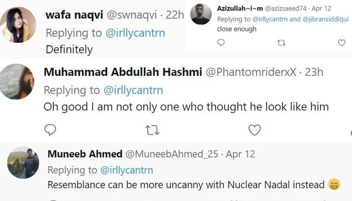 جبران ناصر اور امریکی اداکار کی مشابہت کے چرچے