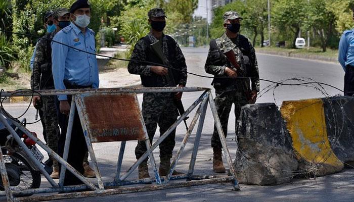 اسلام آباد کے 7 سیکٹرز میں 10 دن کیلئے اسمارٹ لاک ڈاؤن نافذ