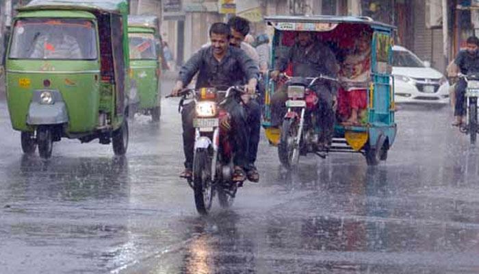محکمہ موسمیات کی آندھی ، گرج چمک کیساتھ بارش کی پیش گوئی
