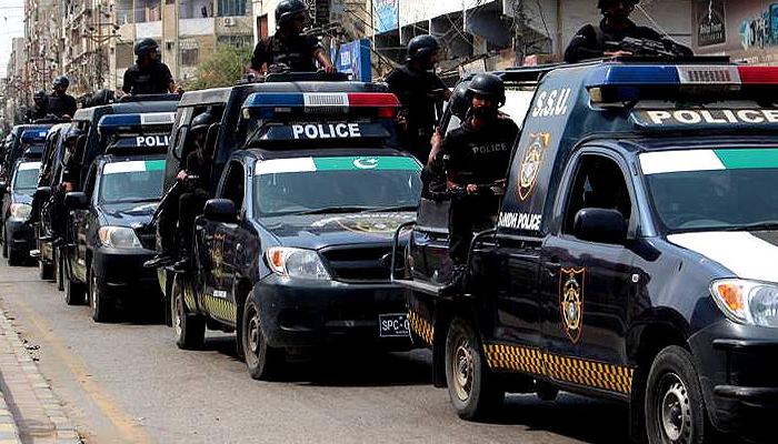 کراچی: پولیس کا کریک ڈاؤن، مذہبی جماعت کے 120 کارکن گرفتار