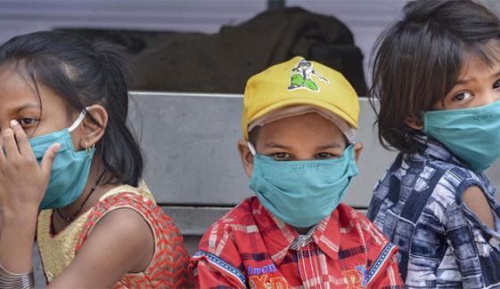 کے پی میں 10 سال تک کے بچوں میں کورونا کیسز 4.3 فیصد ہوگئے