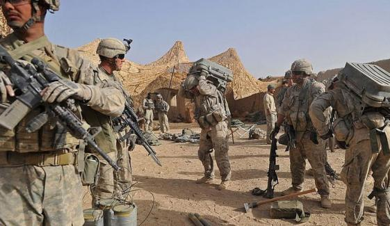 امریکا کا افغانستان سے افواج واپس نکالنے کا اعلان