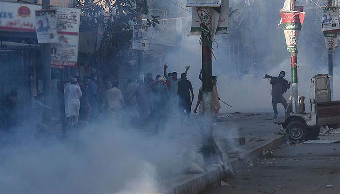 کراچی: TLP رہنماؤں کی فہرستیں جاری، 150 گرفتار